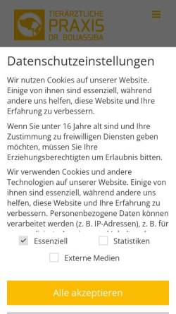 Vorschau der mobilen Webseite www.osthold.com, Dr. med. vet. Wolfgang Osthold