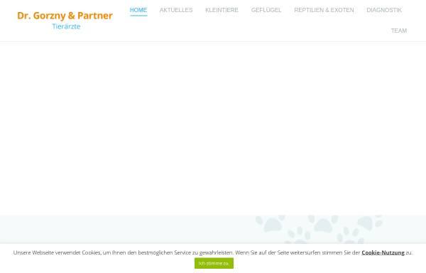Vorschau von www.tierarztpraxis-leipzig.de, Kleintierpraxis Dr. Olaf Gorzny