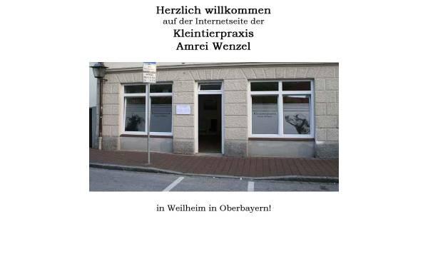 Vorschau von www.kleintierpraxis-wenzel.de, Kleintierpraxis Amrei Wenzel
