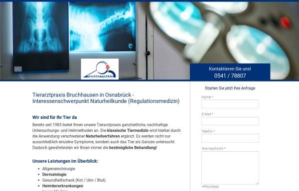 Vorschau von www.tierarzt-bruchhausen.de, Kleintierpraxis Bruchhausen