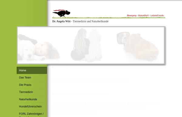 Vorschau von www.tierdoc-witt.de, Kleintierpraxis Dr. Angela Witt