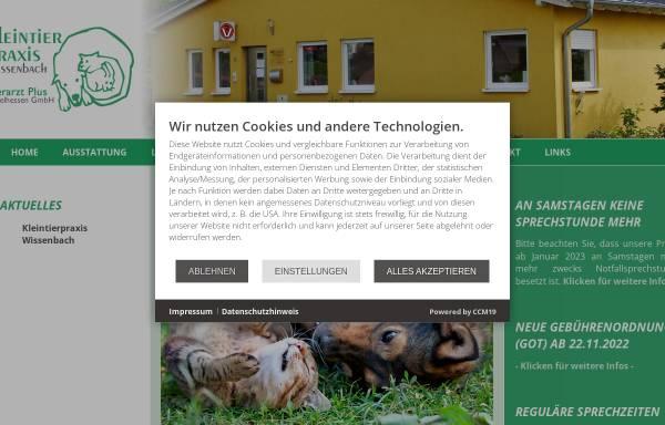 Vorschau von www.kleintierpraxis-wissenbach.de, Kleintierpraxis Dr. Hansjörg Lehn und Kerstin Lehn-Kohl
