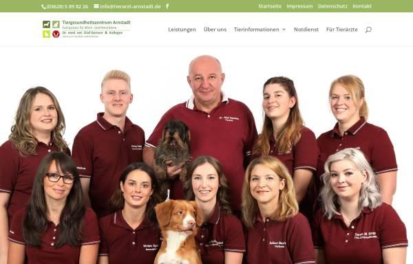 Vorschau von www.kleintierpraxis-arnstadt.de, Kleintierpraxis Dr. Jäkel & Dr. Gensen