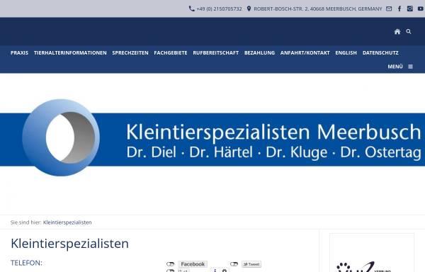 Vorschau von sanfte-kastration.de, Kleintierpraxis Dr. Jens Diel