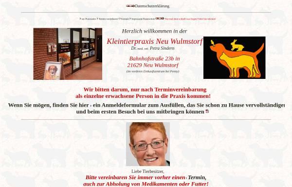 Vorschau von www.tierarztpraxis-neuwulmstorf.de, Kleintierpraxis Dr. med. vet. Petra Sindern