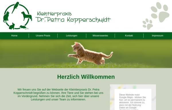 Vorschau von www.kleintierpraxis-emmerthal.de, Kleintierpraxis Dr. Petra Kopperschmidt