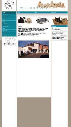 Vorschau der mobilen Webseite simon-and-simon.de, Kleintierpraxis Dr. Rainer und Dr. Karin Simon