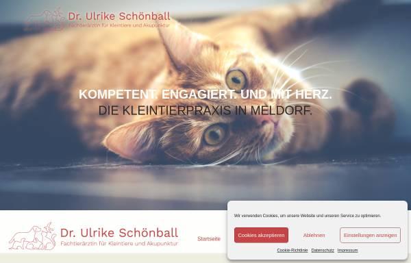 Vorschau von www.tierarzt-westkueste.de, Kleintierpraxis Dr. Ulrike Schönball