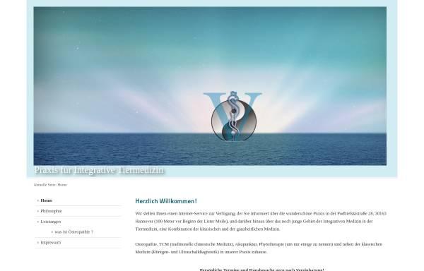 Vorschau von www.kleintierpraxis-listerturm.de, Kleintierpraxis Lister Turm