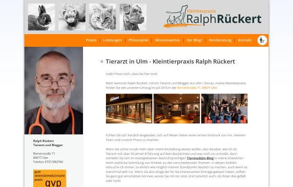 Vorschau von www.tierarzt-rueckert.de, Kleintierpraxis Ralph Rückert