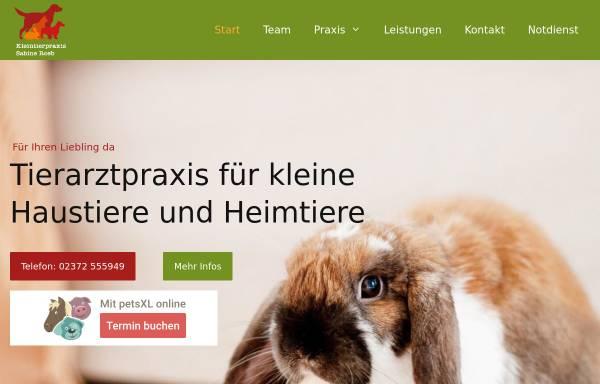 Vorschau von tierarzt-hemer.de, Kleintierpraxis Sabine Roeb