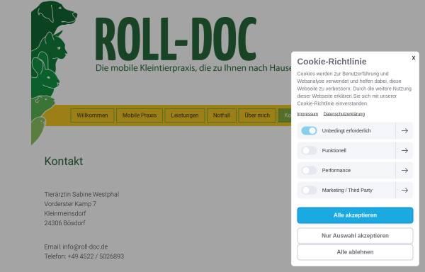 Vorschau von www.roll-doc.de, Roll-Doc - Die mobile Tierarztpraxis