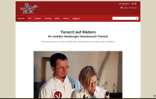 Vorschau von www.tierarzt-auf-raedern.de, Tierarzt auf Rädern Dr. Imke Rieksmeier