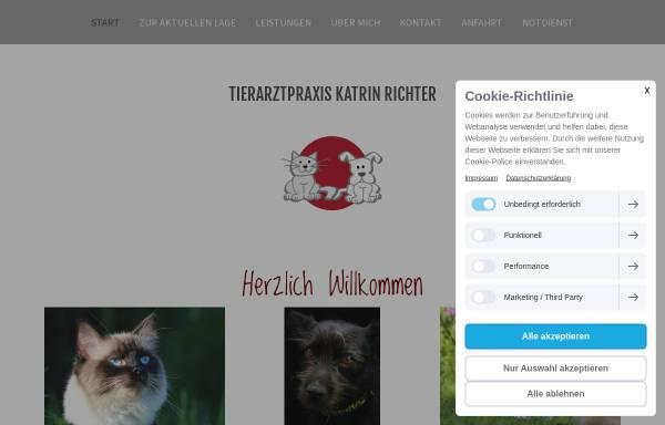 Vorschau von www.tierarztpraxis-in-strausberg.de, Tierärztin Gritli-Catrina Barich