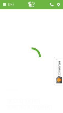 Vorschau der mobilen Webseite www.tieraerzte-quandtundbracke.de, Tierärztliche Gemeinschaftspraxis Bracke und Quandt