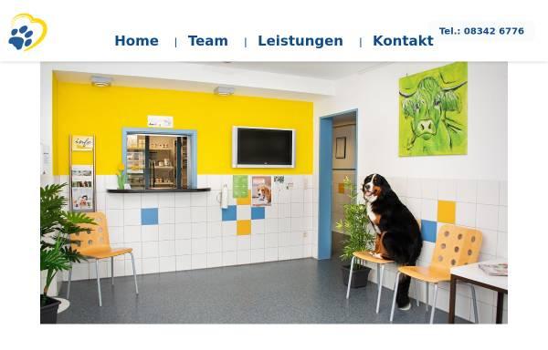 Vorschau von www.tierarztpraxis-allgaeu.de, Tierärztliche Gemeinschaftspraxis F.J. Sappert & T. Effenberger