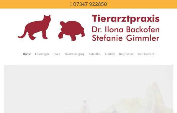 Vorschau von www.tierarztpraxis-dietenheim.de, Tierarztpraxis Dr. Ilona Hubert und Stefanie Gimmler
