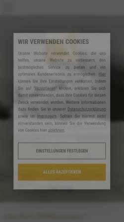 Vorschau der mobilen Webseite www.tierarzt-sommer.de, Tierarzt-Praxis Dr. Klaus Sommer