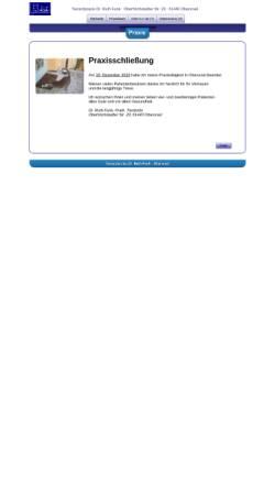 Vorschau der mobilen Webseite www.tieraerztin-drfunk.de, Tierarztpraxis Dr. Ruth Funk