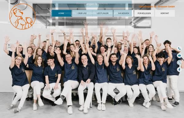 Vorschau von www.tierarztpraxis-soerensen.de, Tierarztpraxis Dr. Sörensen