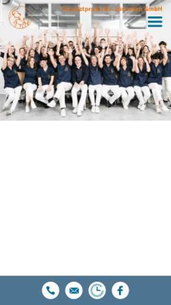 Vorschau der mobilen Webseite www.tierarztpraxis-soerensen.de, Tierarztpraxis Dr. Sörensen