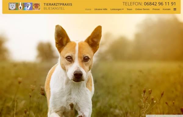 Vorschau von www.tierarzt-blieskastel.de, Tierarztpraxis Eva Pittendörfer