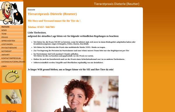Vorschau von www.tierarztpraxisreutter.de, Tierarztpraxis Nadine Reutter