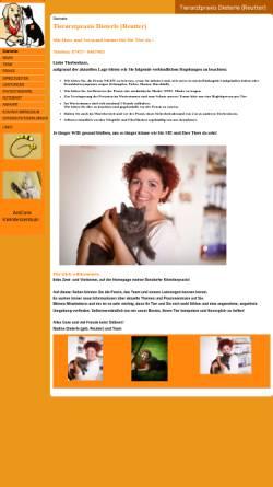 Vorschau der mobilen Webseite www.tierarztpraxisreutter.de, Tierarztpraxis Nadine Reutter