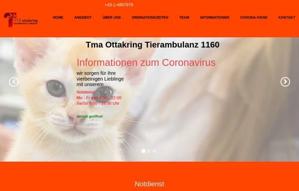 Vorschau von www.tma.at, Tiermedizinische Ambulanz Ottakring