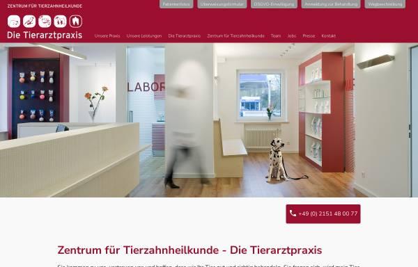 Vorschau von www.tierzahn.de, Tierzahnarzt Dr. Jochen Krüger