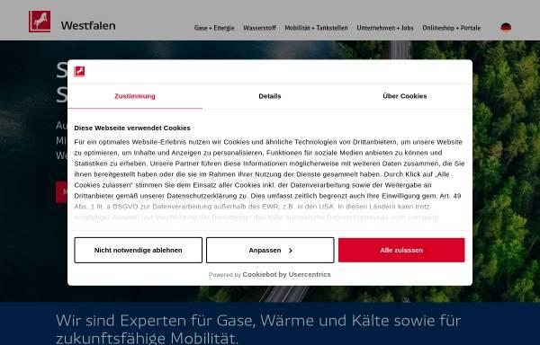 Vorschau von westfalen.com, Westfalen Aktiengesellschaft