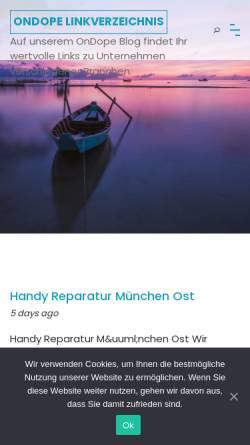 Vorschau der mobilen Webseite www.on-dope.de, Doping Aktuell