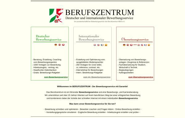 Vorschau von www.berufszentrum.de, Berufszentrum-Online - Berufszentrum Dipl.-Ing. Alexander Büsing