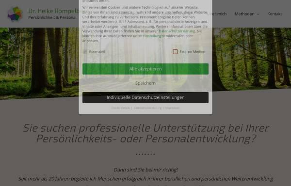 Vorschau von www.beratungundcoaching.de, Dr. Heike Felmayer