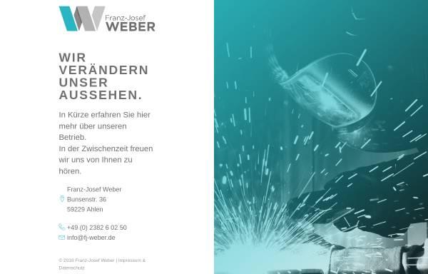 Vorschau von www.entsorgungstechnik-weber.de, Franz-Josef Weber Sonderanlagenbau - Entsorgungstechnik