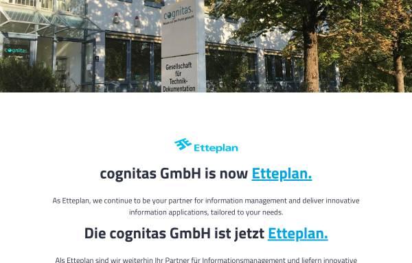 Vorschau von www.cognitas.de, Cognitas Gesellschaft für Technik-Dokumentation mbH