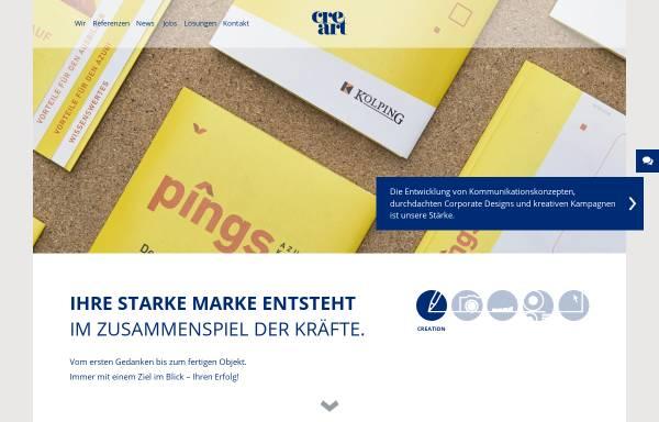 Vorschau von www.creart.de, Cre art Neidhardt Werbe GmbH