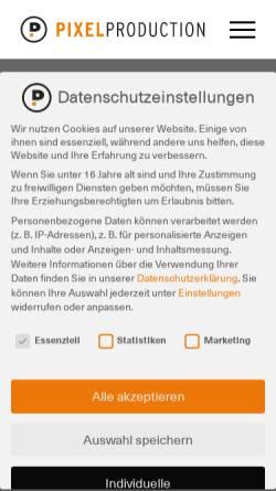 Vorschau der mobilen Webseite www.freitag-werbung.de, Freitag! Werbeagentur und Verlag GmbH