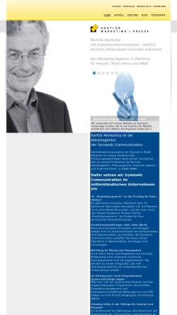 Vorschau der mobilen Webseite www.korfluer.de, Korflür Marketing GmbH