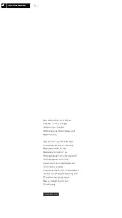Vorschau der mobilen Webseite www.berlinarchitekt.de, Fischer, Arthur