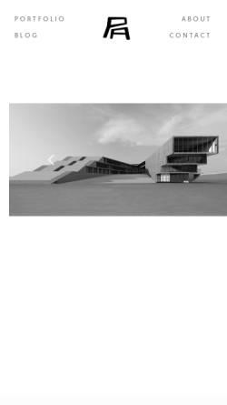 Vorschau der mobilen Webseite www.paetzold-architekten.de, Pätzold, Christopher