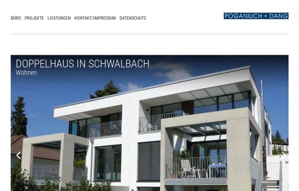 Vorschau von www.poganiuch-dang.de, Poganiuch und Dang