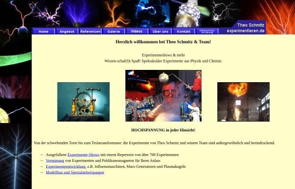 Vorschau von www.experimentieren.de, Theo Schmitz