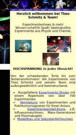 Vorschau der mobilen Webseite www.experimentieren.de, Theo Schmitz