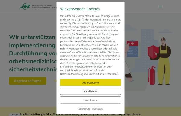 Vorschau von www.asz-gmbh.de, ASZ GmbH & Co. KG