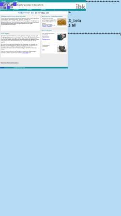 Vorschau der mobilen Webseite www.ibk-energy.de, IBK Ingenieurbüro Knoblich GbR