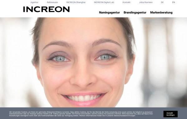 Vorschau von www.increon.com, Increon GmbH