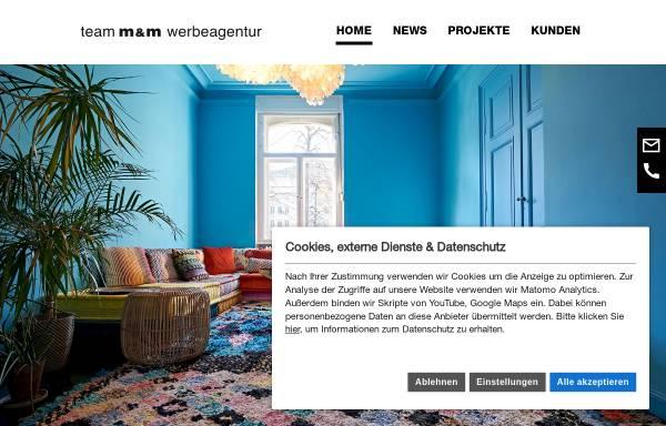 Vorschau von team-mm.de, Team M&M GmbH und Co. KG