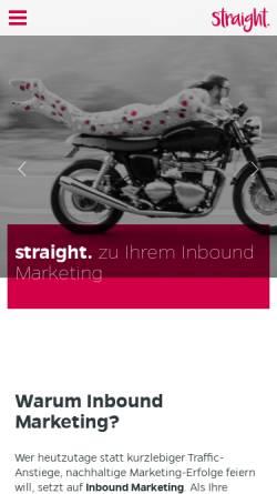 Vorschau der mobilen Webseite www.agenturfreiraum.com, Agentur Freiraum - Design & Kommunikation