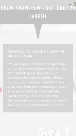 Vorschau der mobilen Webseite www.bta-gmbh.de, BTA Video Marketing GmbH